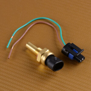Coolant Temperature Sensor with Connector Fit for Buick Cadillac Chevrolet GMC