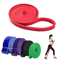 Rubber Resistance Bands Fitness Workout Elastic Training Band For Pilates lot