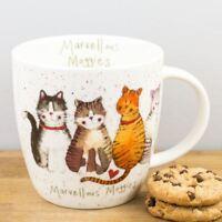 New Churchill Alex Clark Marvellous Moggies Fine China Cat Mug 430ml Coffee Cup