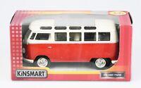 KINSMART 1:24 Volkswagen T1 Classical Bus Samba 1962, Die Cast, 17cm, NEU+OVP