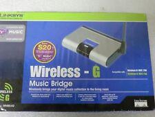 Linksys Wireless G Music Bridge WMB54G  - New/Sealed