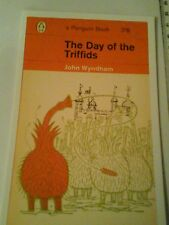Post card. Penguin Science Fiction book cover. Unposted. The Day of the Triffids
