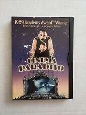Cinema Paradiso Dvd, 1999 Original Snapcase! Region 1 Italian w/ subtitles