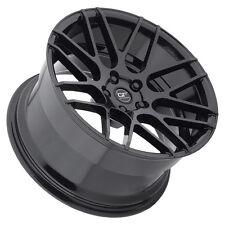 Ground Force GF7 18x8/18x9 5x105 Black Wheels (set of 4)
