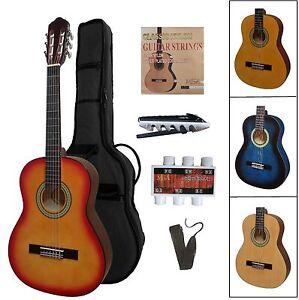 Gitarre 3/4 Modell-jugend-kinder- für linkshänder/ lefthand, mit Zubehör/ Set!n