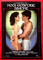 LADY OF THE NIGHT 1986 SEXY SERENA GRANDI FABIO SARTOR RARE EXYU MOVIE POSTER
