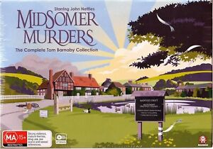 John Nettles - Midsomer Murders Season 1-13 New/Sealed - Complete Tom Barnaby **