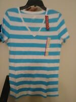 Women MERONA T- Shirt  Short Sleeve Round Crew neck 100% cotton L, XL, 2XL