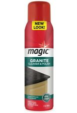 Lot of 6 MAGIC GRANITE CLEANER & POLISH FOR STONE 17 oz Case
