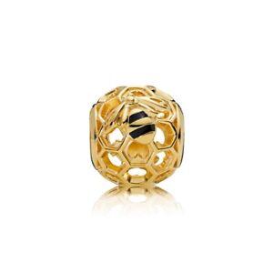 Pandora Charm Bead 767023EN16 Shine Honeybee S925 ALE