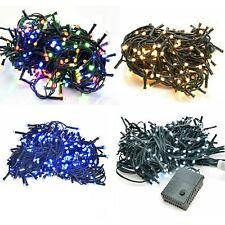 Luci LED Albero di Natale Catena Minilucciole Natalizie Addobbi Interno Esterno