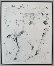 BETH VAN HOESEN - RARE ABSTRACT SMALL EDITION ETCHING - PENCIL SIGNED