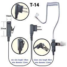 2-wire Headset Earphone for Motorola Rdu2020 Rdu2080D Rdu4100 Rdu4160 Handheld