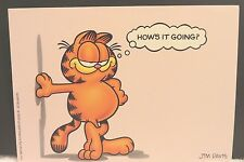 vintage garfield postcard...........