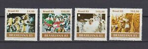 S19084) Brasil Brazil MNH New 1983 Brazilian 4v