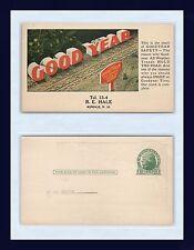 NEW HAMPSHIRE RINDGE R.E. HALE GOOD YEAR TIRES ADVERTISING POSTCARD CIRCA 1930