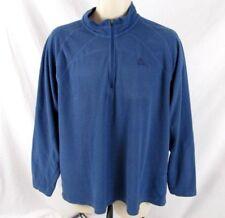 Nike ACG Womens 1/3 Zip Shirt Blue Textured Sz XL Pull Over Long Sleeve CB72R