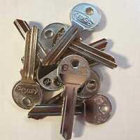 5 X CES CE-52 JMA Schlüsselrohling//Key Blanks