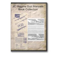 JC Higgins Gun Owners Parts Models 20 29 30 31 50 80 Etc. - 19 Manuals - CD B487