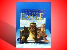 MYST III EXILE GIOCO PER PC NUOVO SIGILLATO!  VERSIONE CARTONATA ITALIANA!
