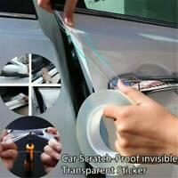 For Car Sill Scuff Protector Door Plate Sticker Bumper Body Anti Scratch Strip^^