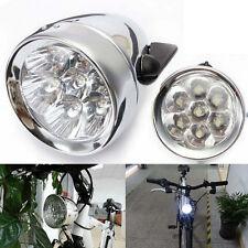 Bicycle Light 3 LED Vintage retro Classic Bike bike Front Light Lamp US Stock