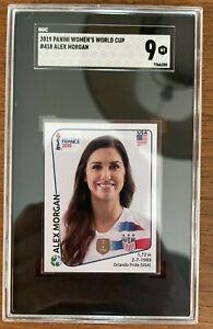 2019 Panini Fifa Women's World Cup France Album Stickers Alex Morgan #418 SGC 9