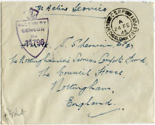 CZECHOSLOVAKIA WW2 FIELD POST 1945 CENSORED 14796 CSPP