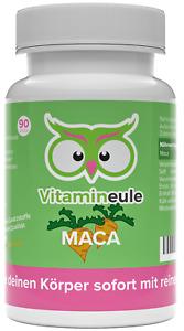 Maca Kapseln / Tabletten - vegan - 500 mg - hochdosiert - Vitamineule