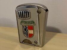 RARE Old Vtg 1952 IMCO Cigarette Lighter Salzburg Emblem Design