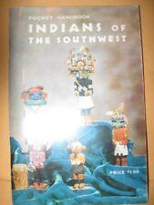 BOOK Pocket Handbook INDIANS OF THE SOUTHWEST 1963 Dutton