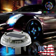 12 LED 4 Mode RGB Car Auto Solar Energy Flash Wheel Tire Light Lamp Decoration