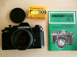 RevueFlex AC1 + 3 zusätzliche Objektive