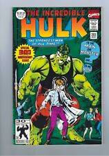 The Incredible Hulk #393 Green Foil From Marvel Comics 1992