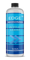 EDGE NAIL ACRYLIC LIQUID MONOMER - 50ml false nails retention sculpting tips