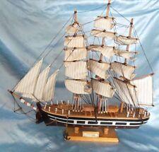 "CUTTY SARK 1869 Clipper Sailing Ship Model 18"" H  X 20' W Nautical"