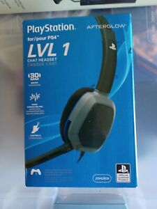 PDP Afterglow LVL1 for Playstation 4 Chat Headset  New