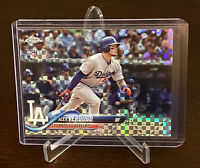 2018 Topps Chrome Alex Verdugo Rookie Card Xfractor Los Angeles Dodgers RC SP