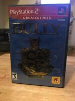 Bully (Sony PlayStation 2, 2006) No Booklet