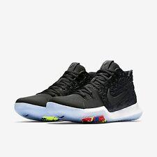 Nike Kyrie 3 Basketball Shoes BLACK ICE 852395-009 Size 11