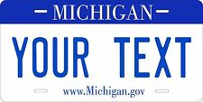 Michigan 2007 License Plate Tag Personalized Auto Car Custom VEHICLE OR MOPED