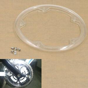 5 Holes Bike Bicycle Crankset Cap Protect Chain Wheel Cover Guard Plastic Kits