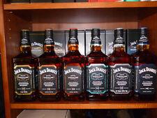 6 x Jack Daniels-Master Distiller Serie, 1+2+3+4+5+6  je 1,0 Liter 43% Vol. Alc.