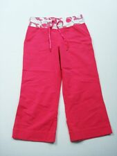 Lululemon Pink Size 4 Crops Pants Yoga Jogging Exercise Flowers Womens A22