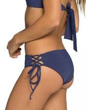 NWT TAVIK 'Bebe' Bikini Bottoms in Cobalt Blue [SZ Medium] #B704