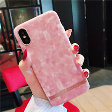 Shiny Glitter Marble Phone Case Silicone Shockproof Soft Cover For iPhone 6/7/8+
