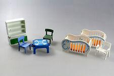Playmobil® - Einrichtung Wohnung - Kinderbetten, Schrank, Stühle (1069)