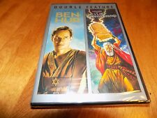 BEN-HUR THE TEN COMMANDMENTS Charlton Heston Double Feature Classic DVD NEW