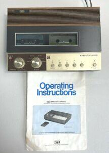 Vintage GTE Executive 6000 Answering Machine