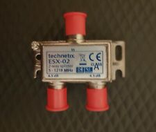 Technetix ESX-02  2 way Splitter 5-1218 MHz quality sky virgin media catv